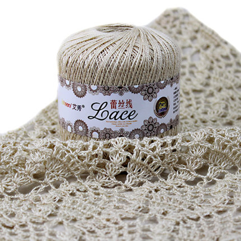 50 Gball 8 Lace Crochet Thread Cotton Thread Lace Yarn Summer