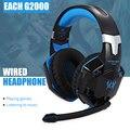 Zeepin CADA G2000 Gaming Headset Estéreo de Sonido 2.2 m Wired Auriculares con Micrófono de Cancelación de Ruido Led para Ordenador PC Gamer