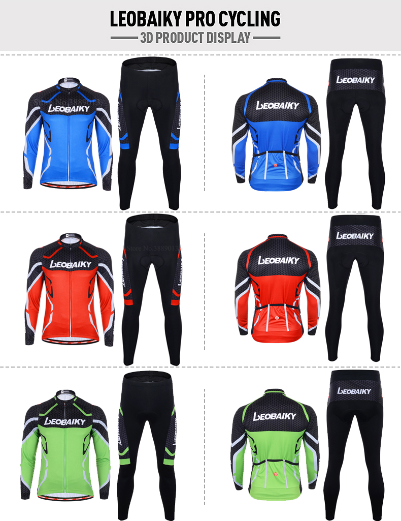 Cycling Clothing Men Long Sleeve
