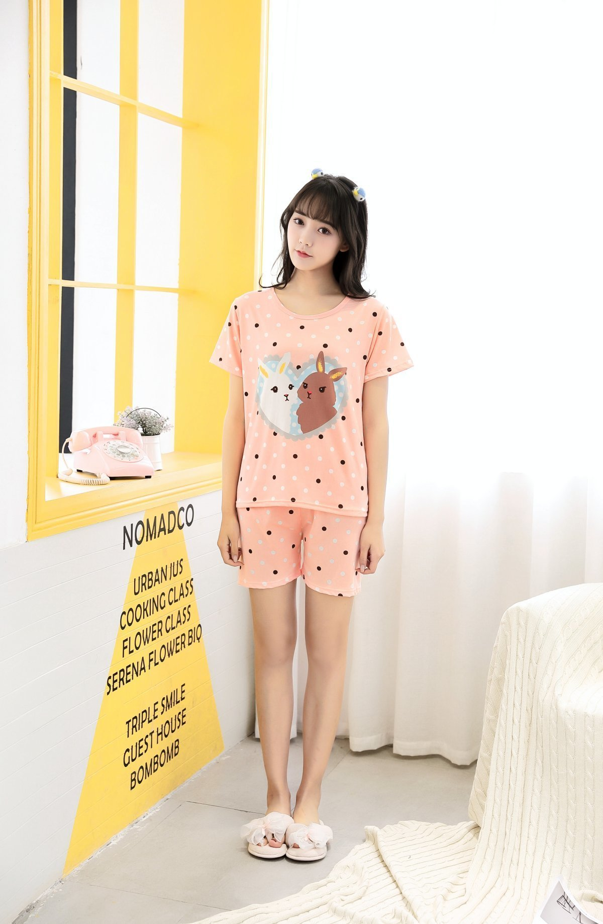 34622f8d2e74 2019 Factory Sale 2018 Pajamas Sets Cute Summer Thin Cotton Cartoon ...