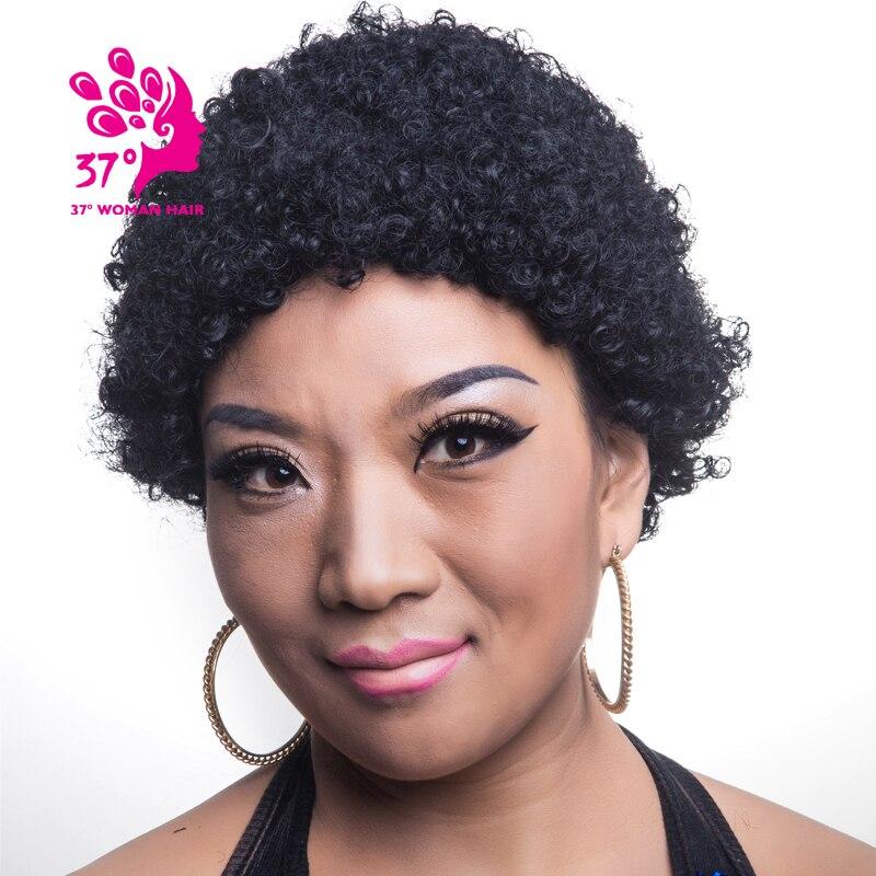 Natural Black Hair Pixie Cut