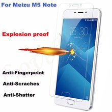 0.26 мм 9 H Премиум взрывозащищенный Закаленное Стекло Для Meizu M5 Примечание 5.5 дюймов Случаи 2.5D Ультра-тонкий Защитная Пленка