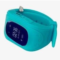 LESHP Montre Smart Watch Enfants Enfant Montre-Bracelet Q50 GSM GPS GPRS localisateur Tracker Anti-Perte Smartwatch pour iOS Android pk mi bande 2