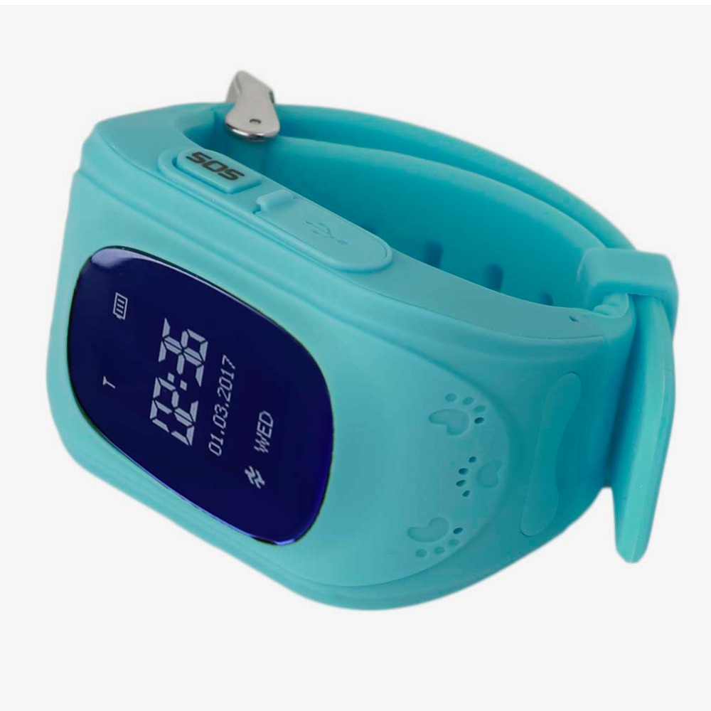LESHP Smart Watch Children Kid Wristwatch Q50 GSM <font><b>GPS</b></font> GPRS Locator <font><b>Tracker</b></font> Anti-Lost Smartwatch for iOS Android pk mi band 2