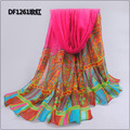 new 2014 wholesale  women large long wide cheap fashion european scarves cotton voile scarf  wrap pashmina shawl 180*95cm SK022