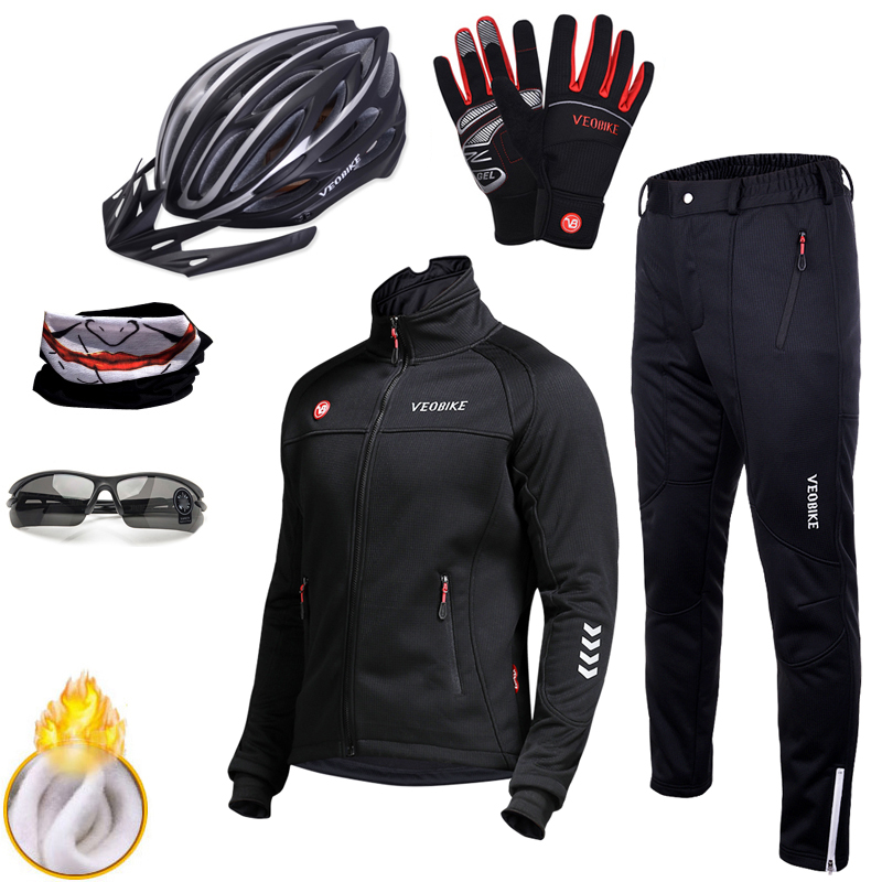 Waterproof Wind Coat Pro Team Cycling Set Men Bike Clothing Windproof Mens Motorcycle Jacket Winter Thermal