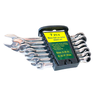 Ratchet combination wrenches set 72 tooth wrenches spanner 8 19mm 7PC
