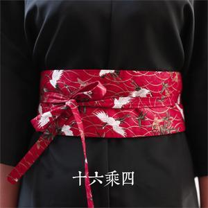 Image 3 - גבוהה באיכות סופר מועדף יפני קימונו hanfu פנג עתיק אתני רוח מותניים חגורת אבנטים