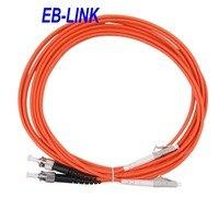 50 미터 lc/PC-ST/pc, om2 멀티 모드 50/125, 듀플렉스, lc-st 광섬유 패치 코드 케이블