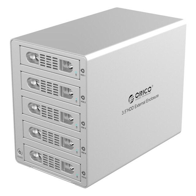 ORICO 3559SUSJ3 gabinete de disco duro externo de 3.5 pulgadas multi-disco USB3.0 de alta velocidad caja de disco duro de $ number bits caja sata