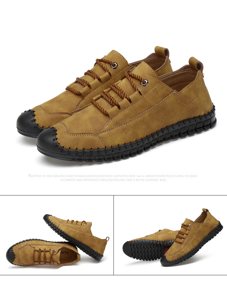 HTB1RYXaayfrK1RjSspbq6A4pFXaE - 2019 New Fashion Leather Spring Casual Shoes Men's Shoes Handmade Vintage Loafers Men Flats Hot Sale Moccasins Sneakers Big Size