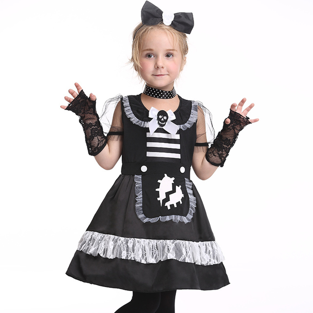 Black mail dress for party new style girl princess dress halloween black mail dress for party new style girl princess dress halloween costume kids performance clothes sciox Choice Image