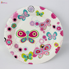 Buy flowered paper plates and get free shipping on aliexpress 18pcs party supplies party decoration happy birthday decorations kids party favors butterfly and flower paper plates mightylinksfo