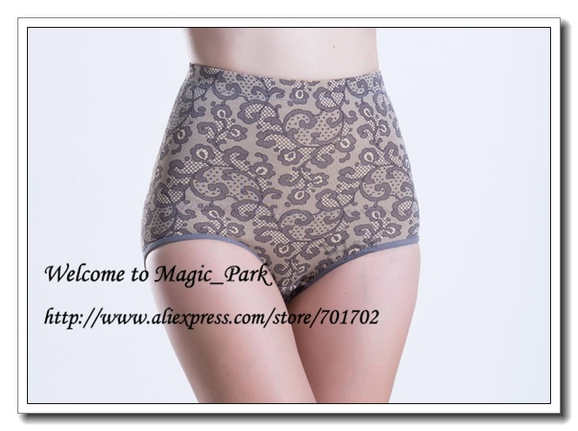 ab9453e49 Magic Park New Smooth Mid Waist Plus size Shapewear Magic Body shaper Waist  Shaper Control Panties