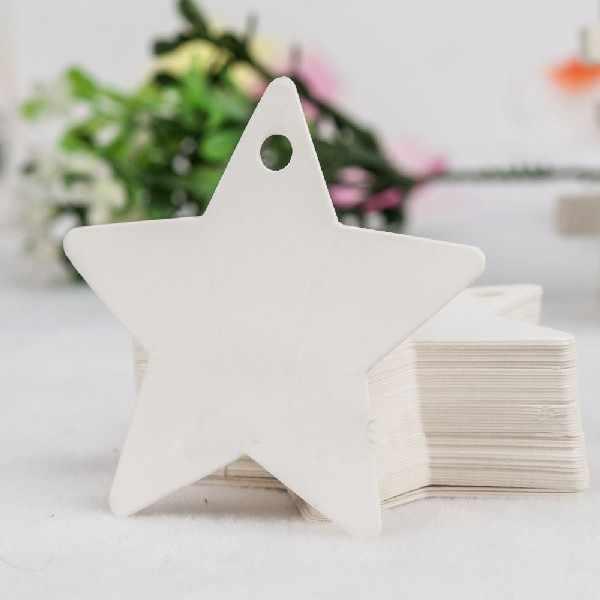 ที่ดีPapularที่มีประโยชน์DIYน่ารักชอบ5*5เซนติเมตร10ชิ้นกระดาษสีขาวเสื้อแขวนป้ายงานแต่งงานฉลากบัตรของขวัญ