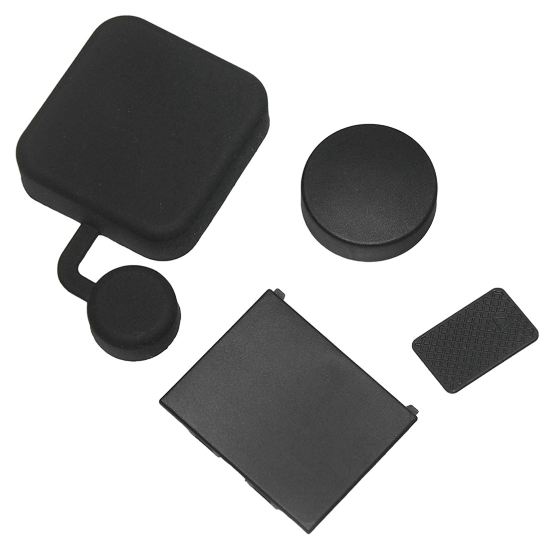 Image 3 - 4 In 1 Housing Lens Cover+Lens Cap +Replacement Battery Door+Side Door Cover for GoPro Hero 4/3+ Camera-in Sports Camcorder Cases from Consumer Electronics