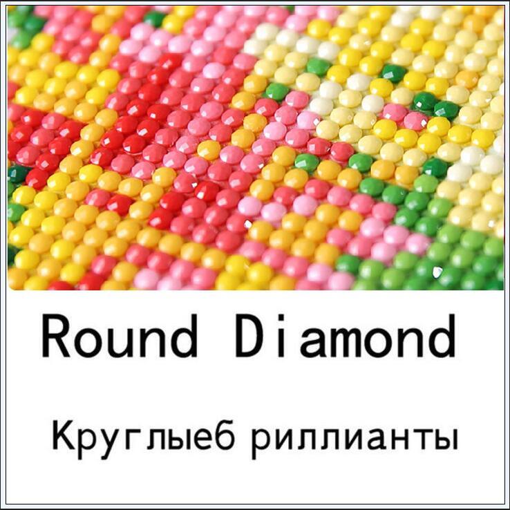 5d алмазная вышивка Сейлор Мун Алмазная вышивка крестиком домашнее украшение с бриллиантами рукоделие - Цвет: Round Diamond