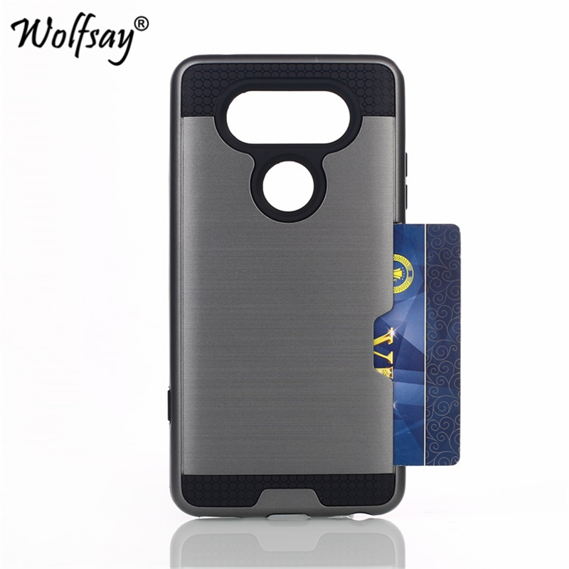 Wolfsay Case-Cover Solt-Case Phone-Shell Credit-Card H990DS F800L Coque Lg Lg V20