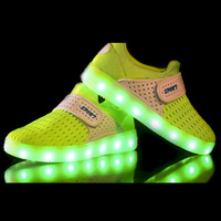 Autumn winter Brand children shoes led shine shoes new boys girls sneakers USB charging Flash shoes fashion lighted shoes CS172