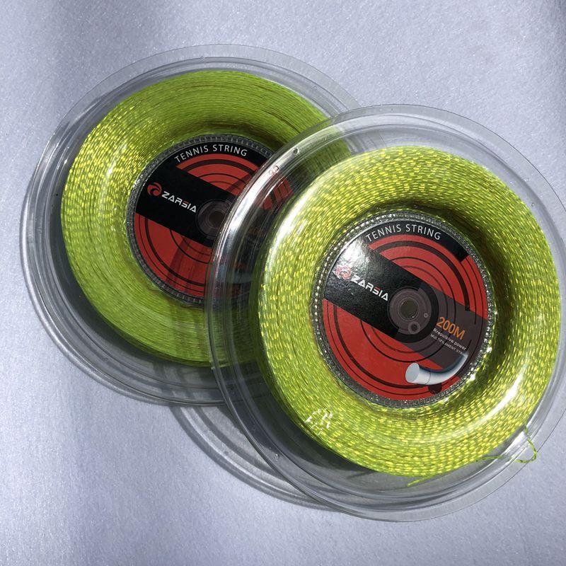 1 Reel ZARSIA Composite Filament Wired 200m Nylon Soft Spinning Nylon Tennis String