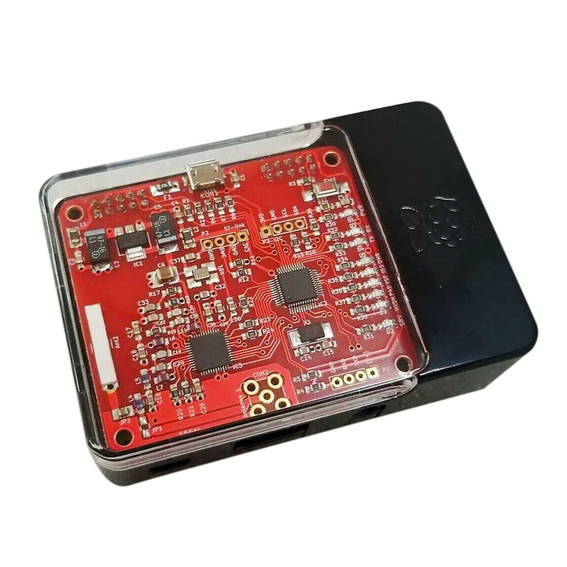 V2.0 Mmdvm Hotspot Modulo P25 Dmr Ysf Nxdn + Raspberry Pi 3B + 16G Sd + Caso
