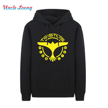 2016 Winter DJ Tiesto Tops Trance Rockmusik Adlerdruck Tiesto'S CLUB LEBEN Men Cotton Hipster Hoodies Sweatshirts