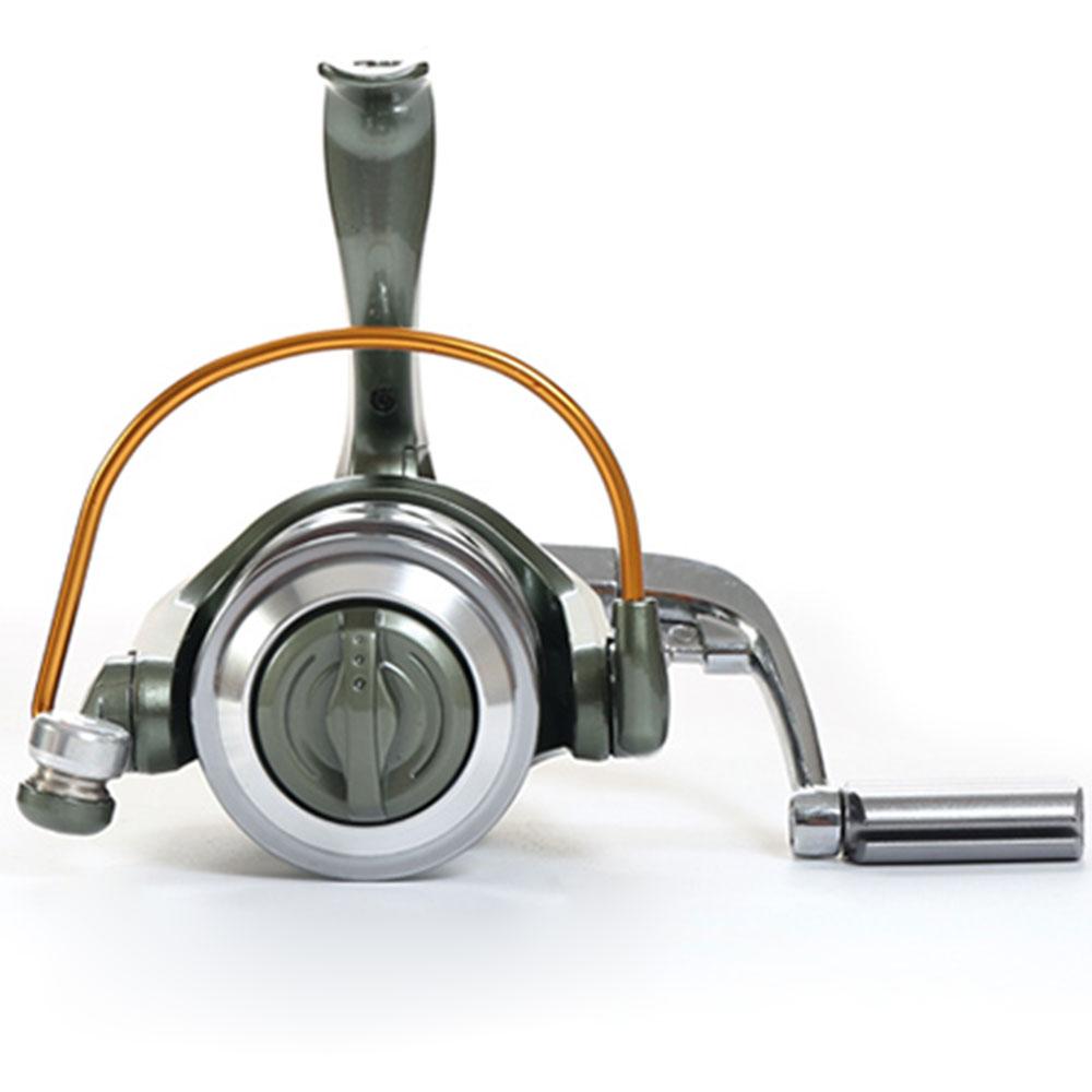 12 + 1BB 5.2: 1 / 4.7: 1 Tam Metal Xətt Kuboku Rocker Arm Spinning - Balıqçılıq - Fotoqrafiya 5