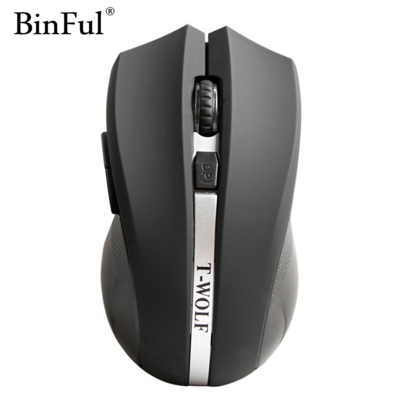 BinFul usb Wireless Mouse silent mute noiseless Optical Mouse Gaming 6 button 2400 DPI mouse for Laptop Computer Mice 10pc twist drill bits set spiral hand drill semi automatic pin vise keyless chuck jewelry walnut manual drilling hole carving