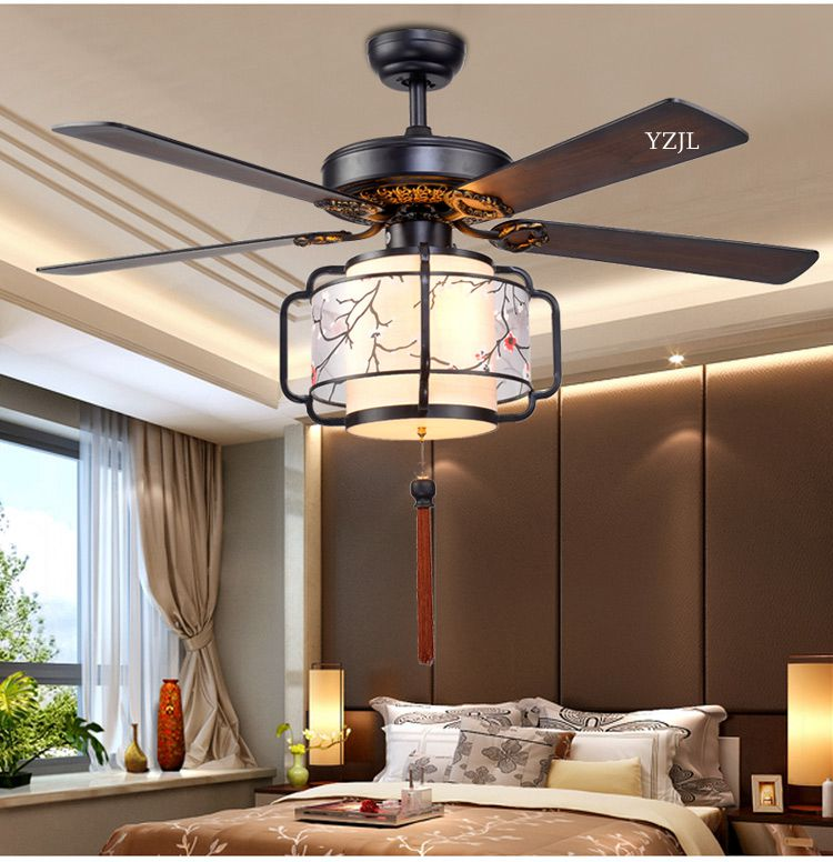 Ceiling fan style asian