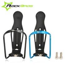 Rockbros ultraligero aleación de aluminio porta botella titular de marco frontal bicicleta portabidón bicicleta titular de la botella ciclismo accesorios