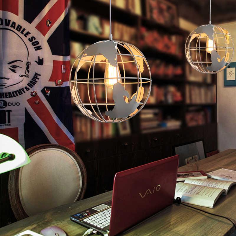 Новый дизайн, круглые подвесные лампы, металлические окрашенные в черный цвет и белый цвет, подвесные светильники для комнаты, антикварное освещение в стиле жизни