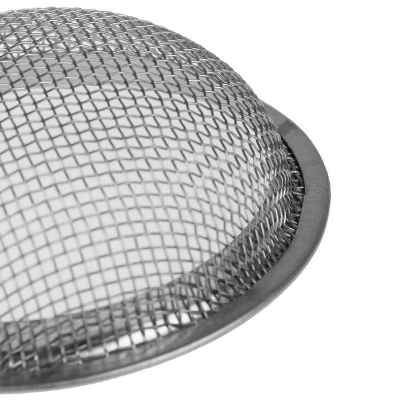 Prata de aço inoxidável narguilé metal tela para upg rdc formulário shisha tigela hookahs chicha narguille diy planta acessórios