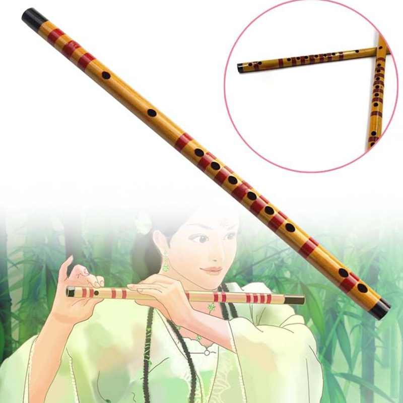 1 Pcs Professional Flute Bamboo Musical Instrument Handmade for Beginner Students ED-shipping