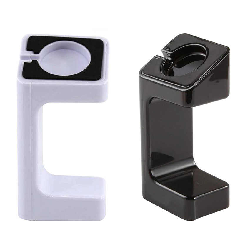 Smart Watch Braket Dudukan Charger Dock Station Pemegang Tali Gunung Stand untuk Apple Watch Seri 1 2 3 42 MM 38 Mm