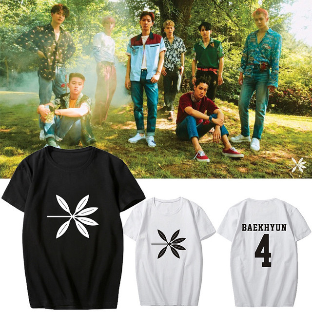 Exo The War Album T-Shirts (12 Styles)