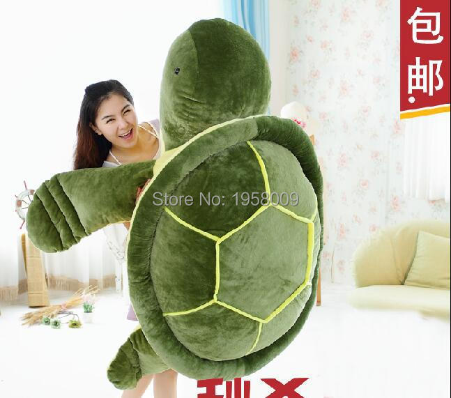 Huge 59 150cm Huge Stuffed Soft Plush Giant Animal Turtle