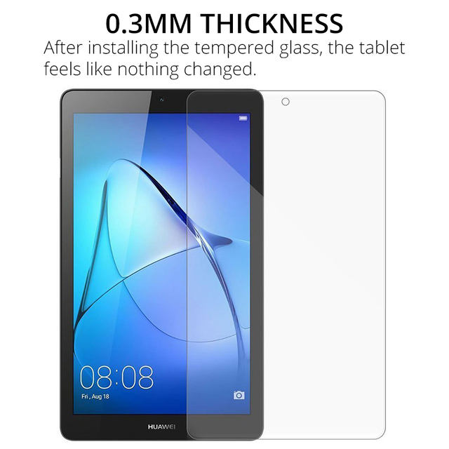 """Tempered Glass Screen Protector for Huawei MediaPad T5 10 T3 9.6 T3 8 8.0 T3 7 3G T3 7.0 WiFi T1 7.0 T1 8.0 T5 8"""" Proective Film 1"""