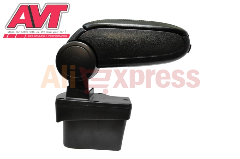 Armrest for Kia Rio III 2011-2015 v1 central console leather storage box ontent box ashtray accessories car styling