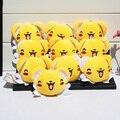 10 шт./лот Аниме Cardcaptor Sakura Керо Плюшевые Игрушки Кукла С Кольцом Плюшевые Брелки Кулон 7 см Бесплатная Доставка