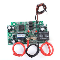 Single Phase Electric Parameters Detector Measuring AC DC Current Voltage Power Frequency Capacity Acquisition Detection Module