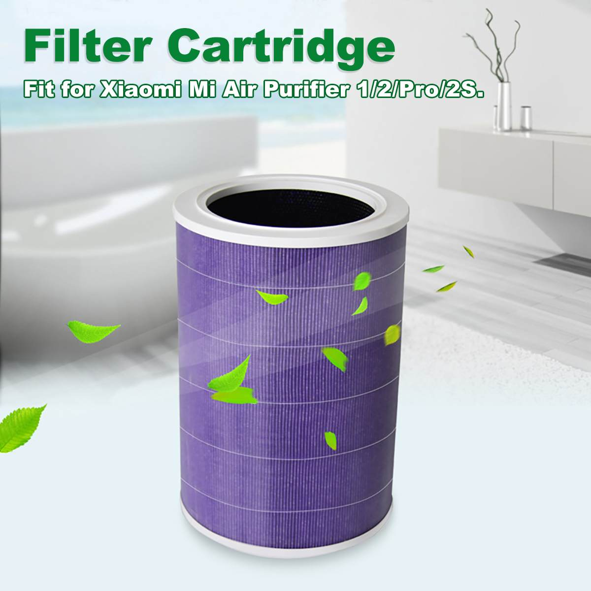 Air Purifier Filter Anti bacterial Pollution Cartridge Replacement Parts Accessories for Xiaomi Mi 1/2/Pro/2S Smart Air Purifier