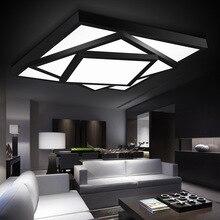 Горячая бесплатная доставка Современные светодиодные потолочные светильники лампы для гостиной спальня люстры де сала дома затемнения внутреннего освещения abajur