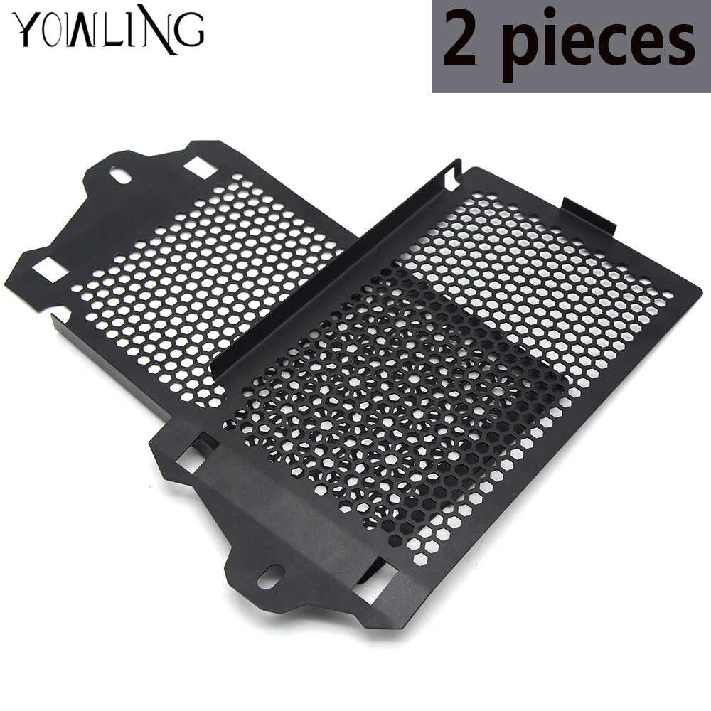 2 pieces Radiator guard FOR BMW R1200GS Adventure 2013-2015 2016 2017 LC Water cooled Moto Radiator Grille Guard Cover Protector for bmw r1200gs lc 2013 14 15 2016 bmw r1200gs lc adv 2014 2015 2016 water cooled radiator grille guard cover