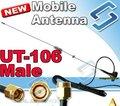 Nagoya UT-106UV SMA macho antena de Banda Dual para UV3R PX-333 TH-2R LT-6100 NF-6600 UV-3R látigo móvil antena de ALTA GANANCIA