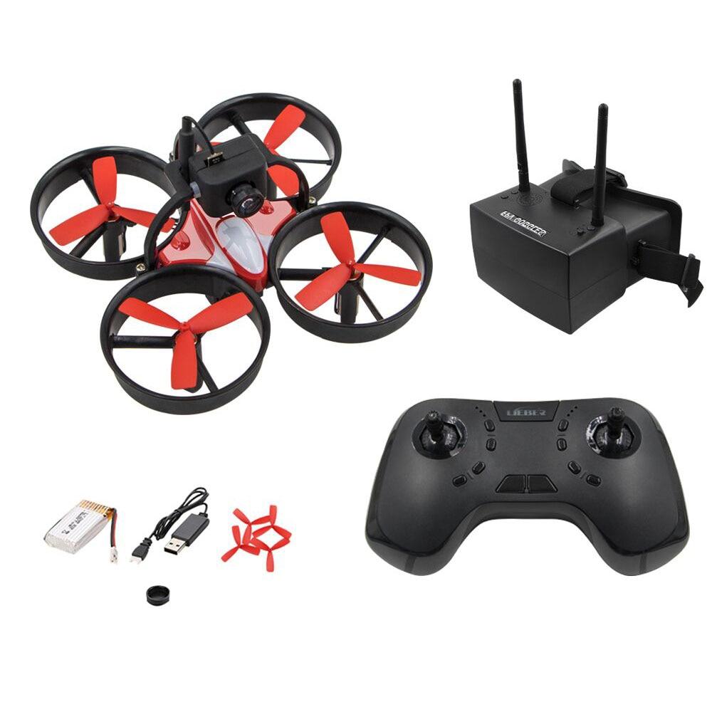Lieber LB1060 6-aixs Drone de course gyroscopique RC quadrirotor avec lunettes FPVLieber LB1060 6-aixs Drone de course gyroscopique RC quadrirotor avec lunettes FPV