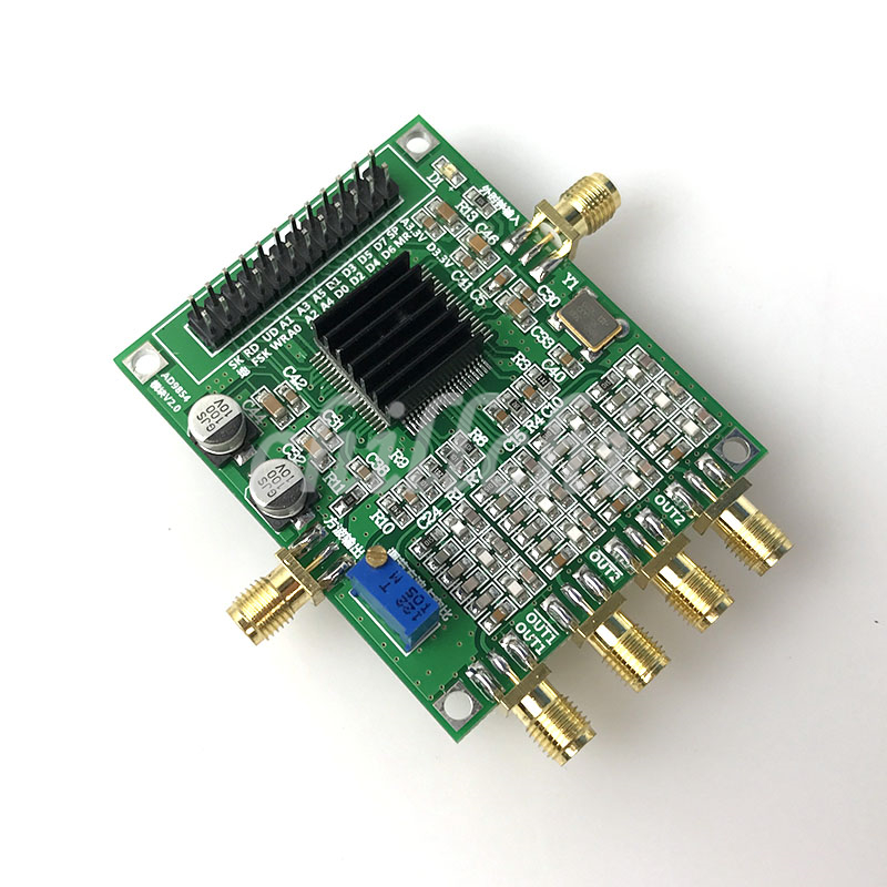 High speed AD9854 module DDS evaluation board signal generator based on the official filter AD9854 package