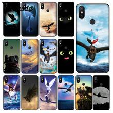 How To Train Your Dragon desdentado Yinuoda Shell Tampa Do Telefone para Xiao mi mi mi 6 Note3 8 8SE Vermelho 5 5 Plus Note4 4X Note5 Celulares(China)