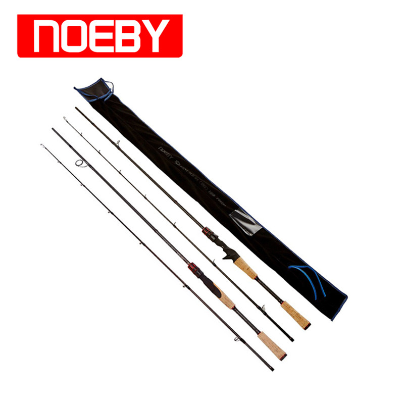 ФОТО NOEBY Fishing Rods Carbon 1.98m 2section ML/M/MH Varas De Pesca Carp Fish Canne Peche Stand Pole Casting Spinning Rod Guide