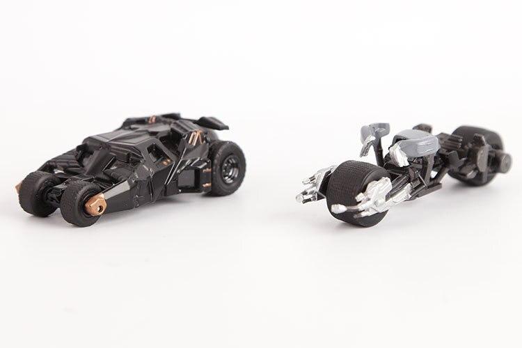 5 Unids Set Juguetes Tomy Genuino Batman Mini Carros Modelo De La