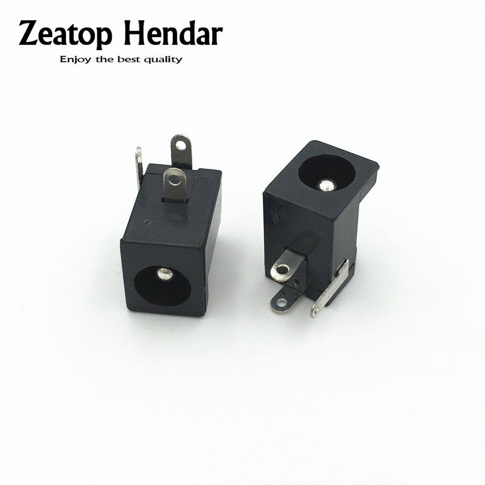 2.5 mm 10PCS 5.5mm*2.5mm Male DC Power Plug Connector Socket 5.5